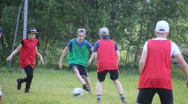 Лагерь Школа футбола фото