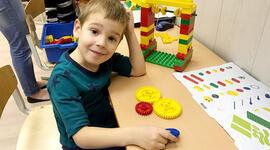 """Курс робототехники Lego Baby """"Простые механизмы"""" для детей от 4,5 до 6 лет фото"""