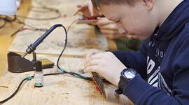 Курс Автоматика. Работотехника. Электроника (1 курс) для детей от 10 до 13 лет фото