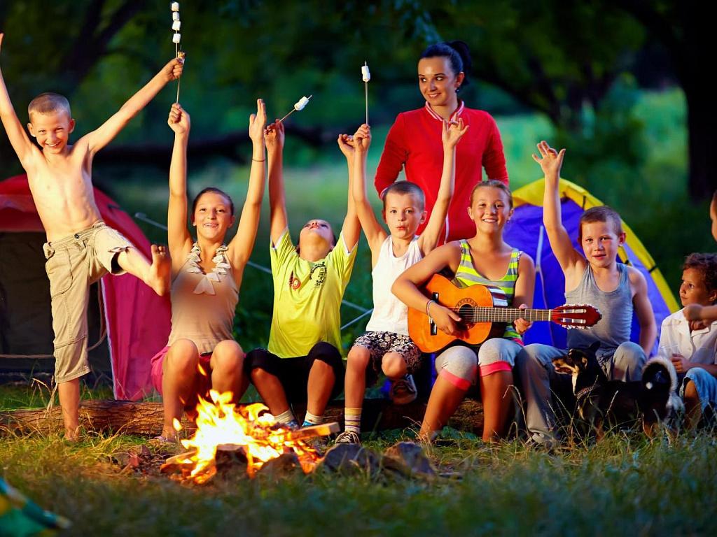 Палаточные лагеря для детей